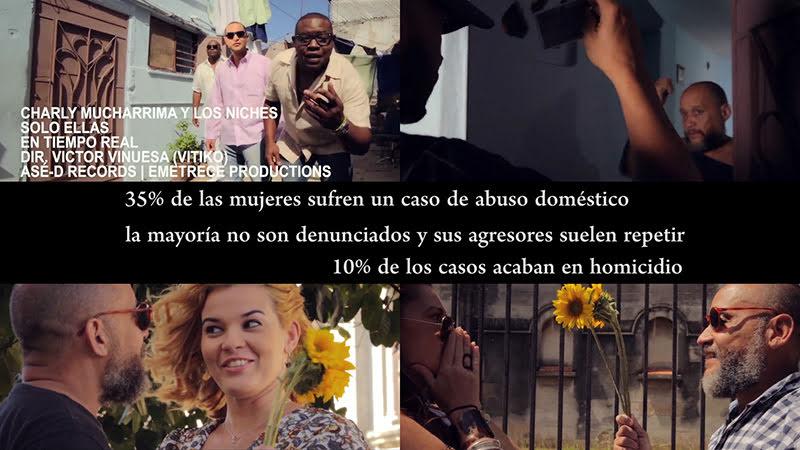 Charly Mucharrima y Los Niches - ¨Solo Ellas¨ - Videoclip - Dirección: Víctor Vinuesa (Vitiko). Portal del Vídeo Clip Cubano