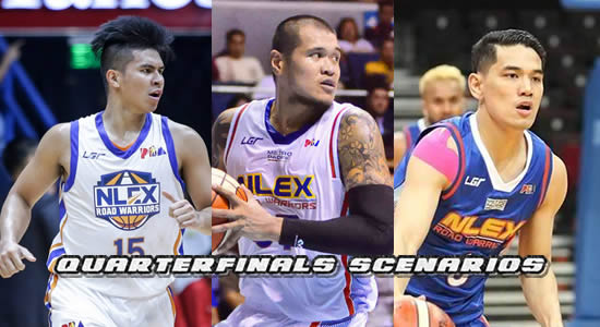 List of Scenarios for NLEX in the Quarterfinals 2018 PBA Philippine Cup