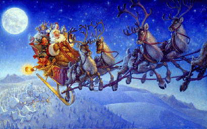 Immagini Slitta Di Babbo Natale.Al Tamburo Riparato La Nuova Slitta Di Babbo Natale