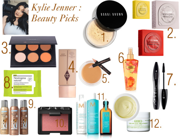 Kylie jenner makeup bag