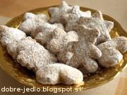 Vanilkové keksíky - recept