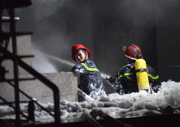 Khoảng 4h sáng vụ cháy mới được khống chế