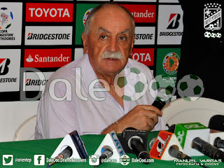 Oriente Petrolero - Xabier Azkargorta - Oriente Petrolero vs Santa Fe - Copa Libertadores - DaleOoo.com web del Club Oriente Petrolero