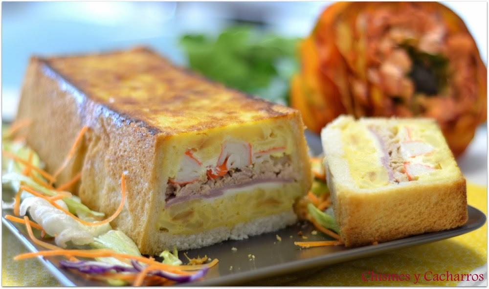 Pastel Salado de Tortilla 2