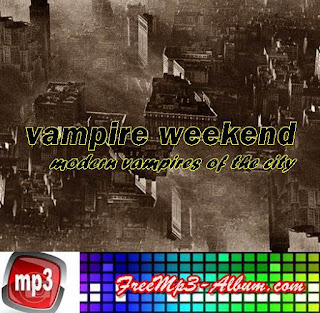 Vampire Weekend Album Modern Vampires of the City cover