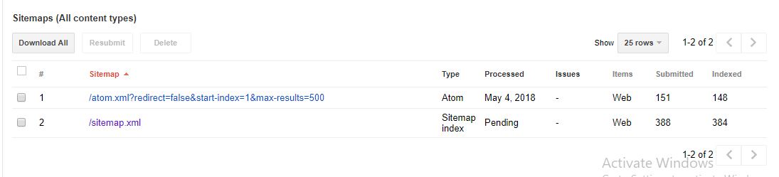how to overcome sitemap index is pending search console dunia it