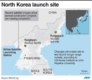 North Korea's nuclear and missile tests sites