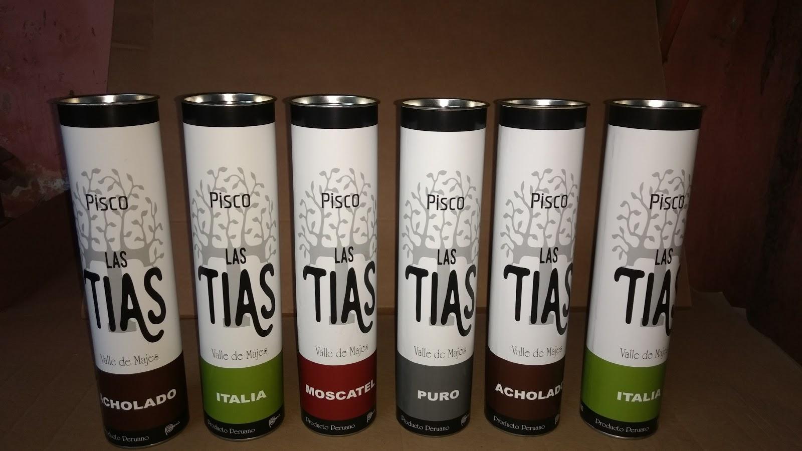 Envases Tubulares De Carton Para Pisco Y Licores Tubos De Cartón