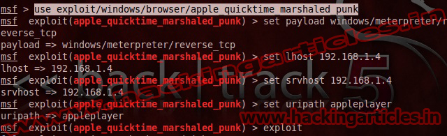How to Hack Remote PC using Apple QuickTime