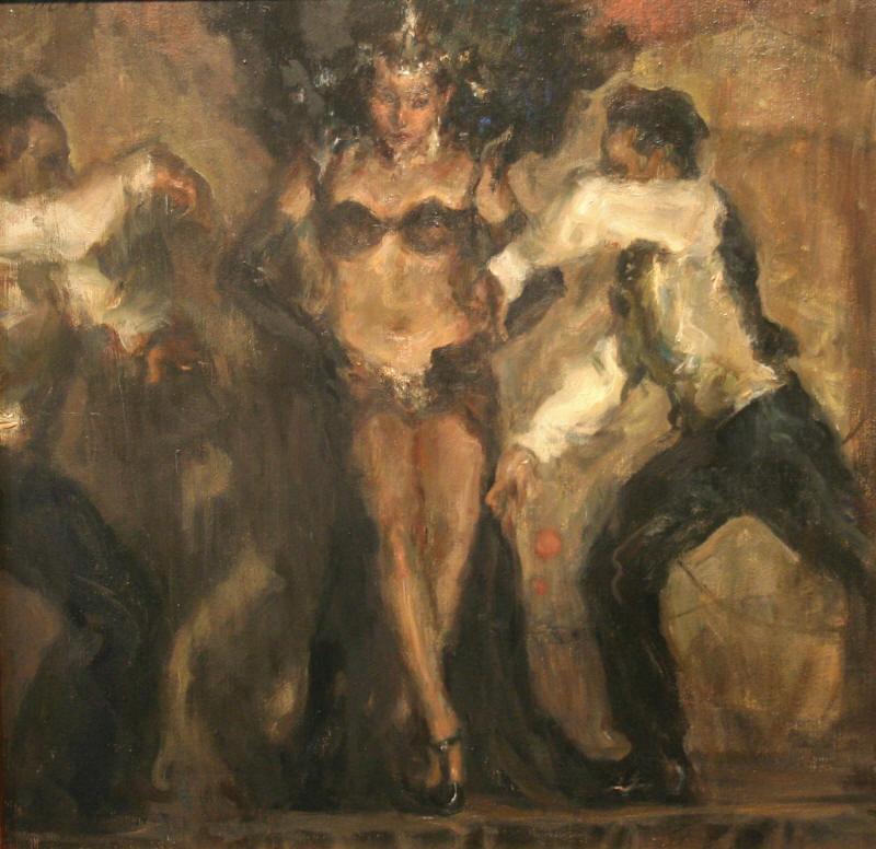 Ron Hicks 1965   American Impressionist painter