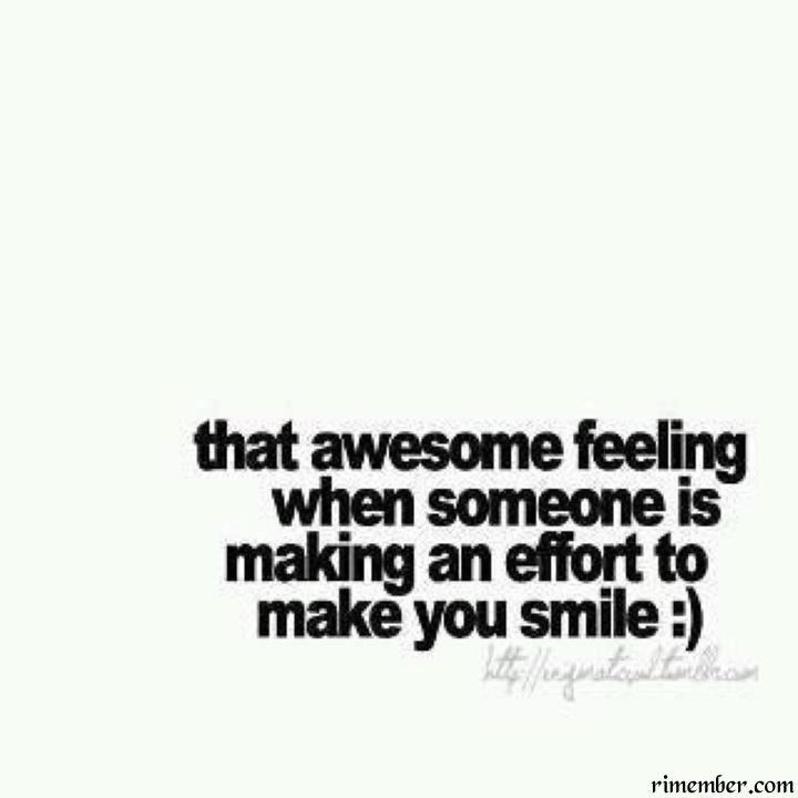 Rimember: That Awesome Feeling When Someone Is Making An