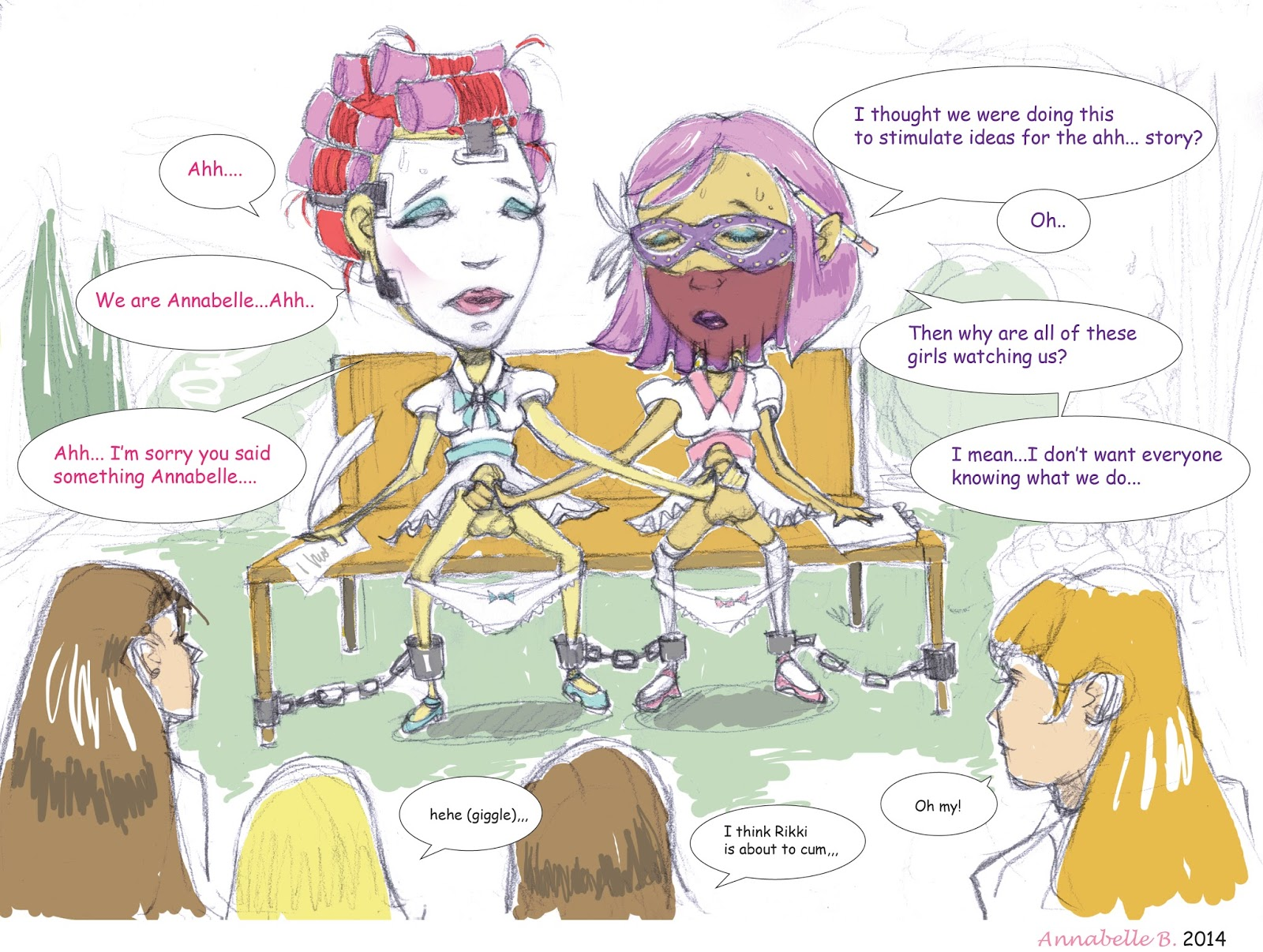forced womanhood cartoons