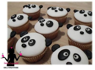 Cupcake Lucu dan Unik Panda
