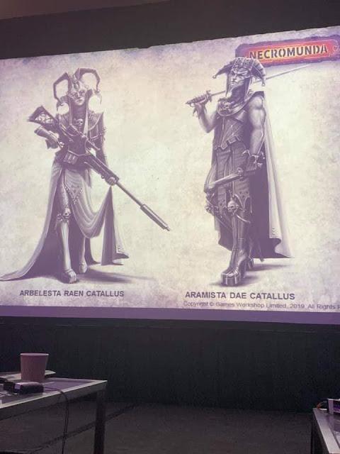 Hermanos de la Casa Catallus de Necromunda