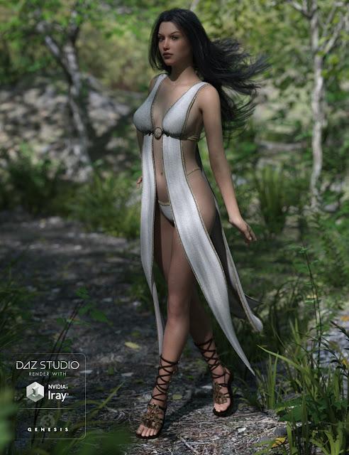 Cassiopeia for Genesis 3 Female