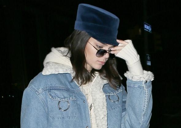 2017-01-15 ケンダル・ジェンナー(Kendall Jenner)ニューヨークにて。