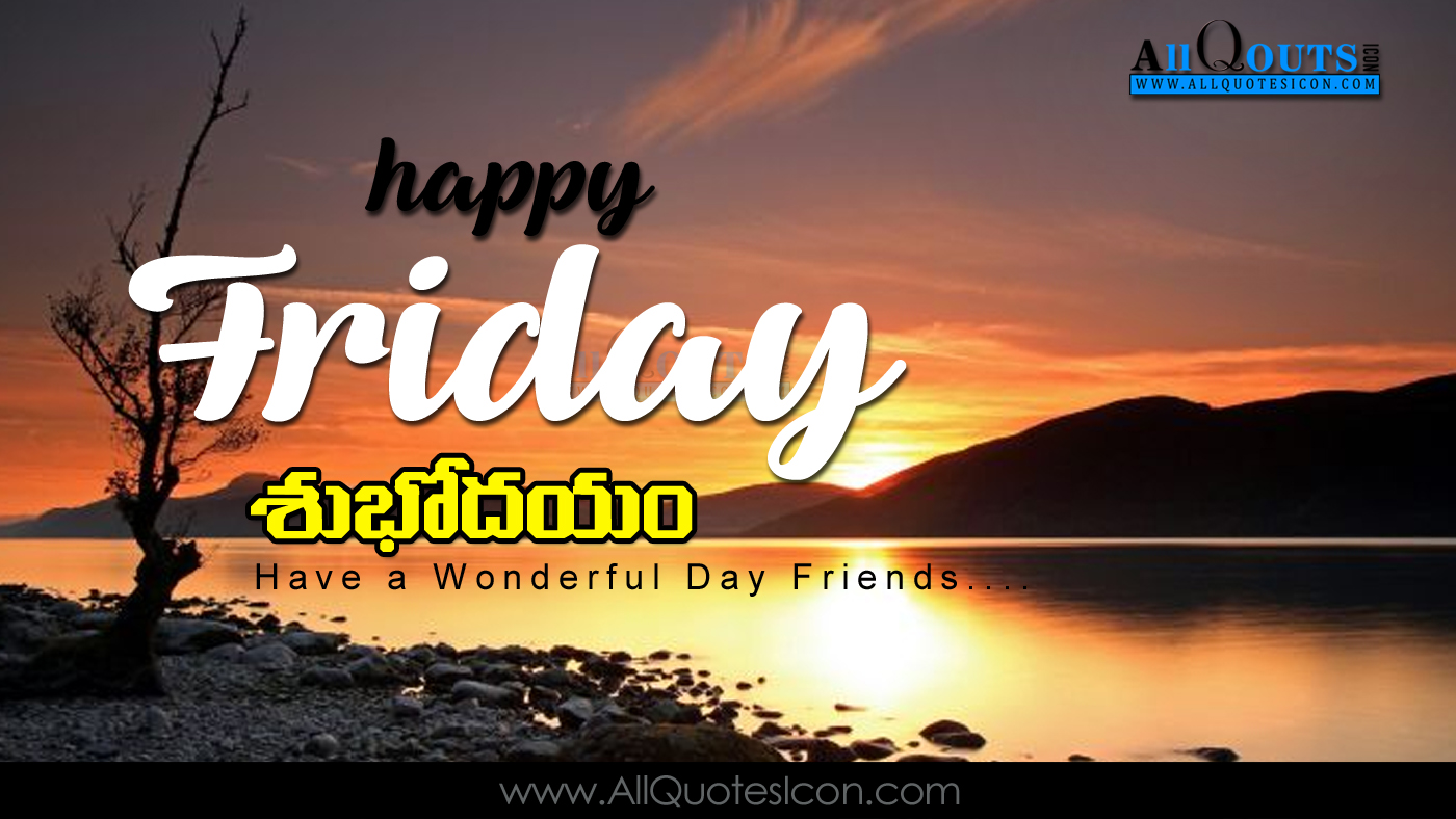 Good Morning Images Friday Telugu Archidev