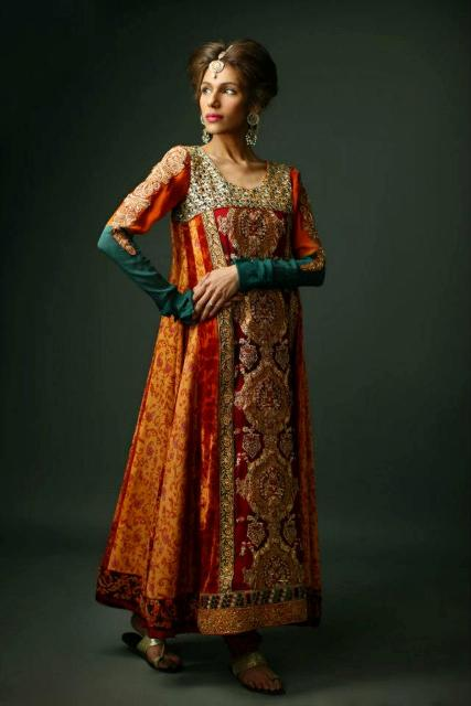 Latest Women L Ladies Winter Dresses Formal Collection 2013 By