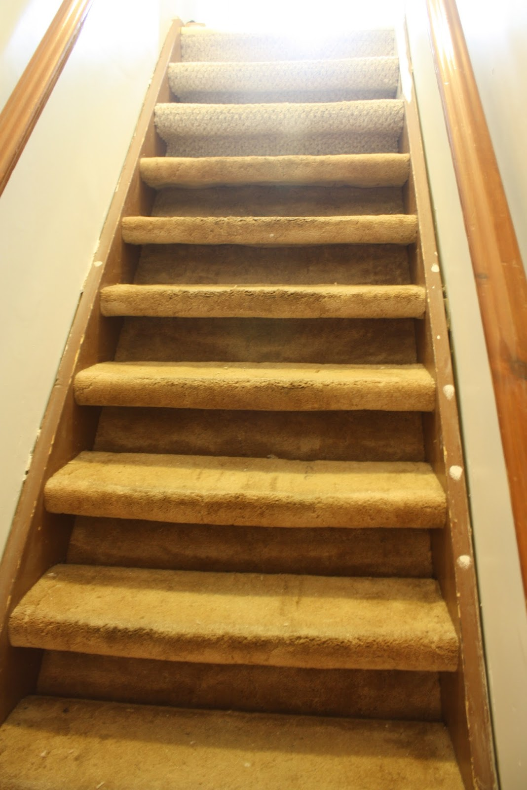 Urbane Jane A Simple Transformation Of Carpeted Stairs