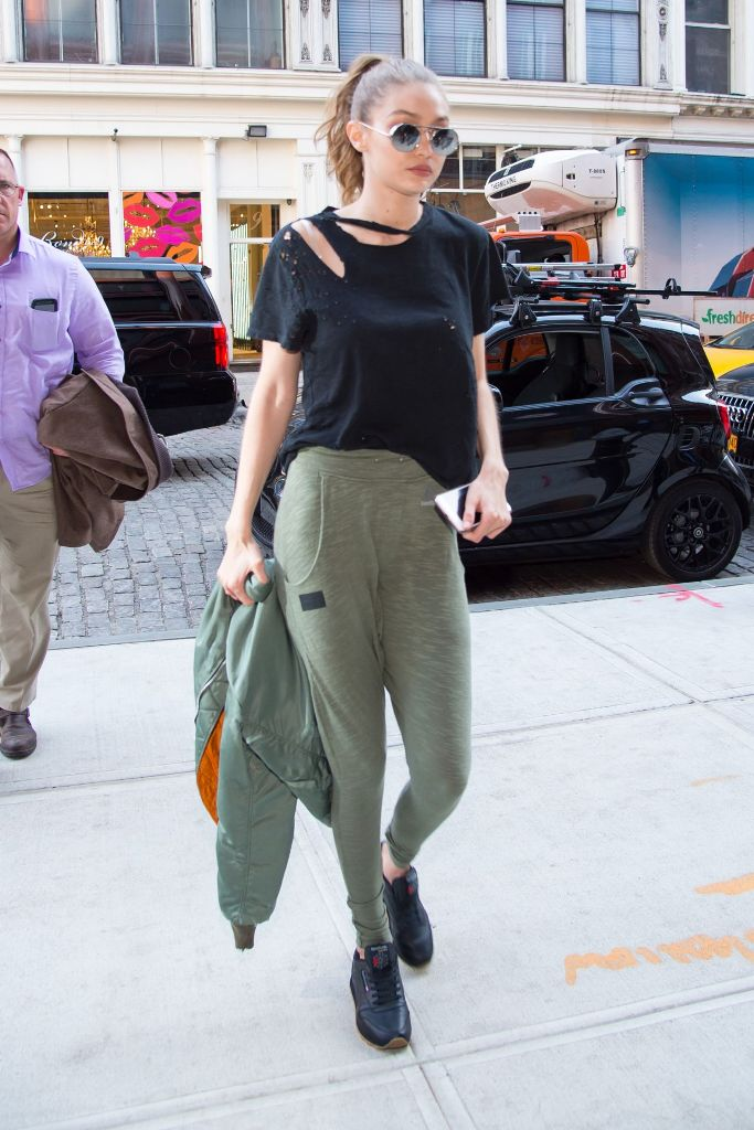 Gigi Hadid Style Out in New York City
