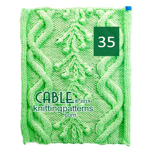 Cable Knitting Pattern 35