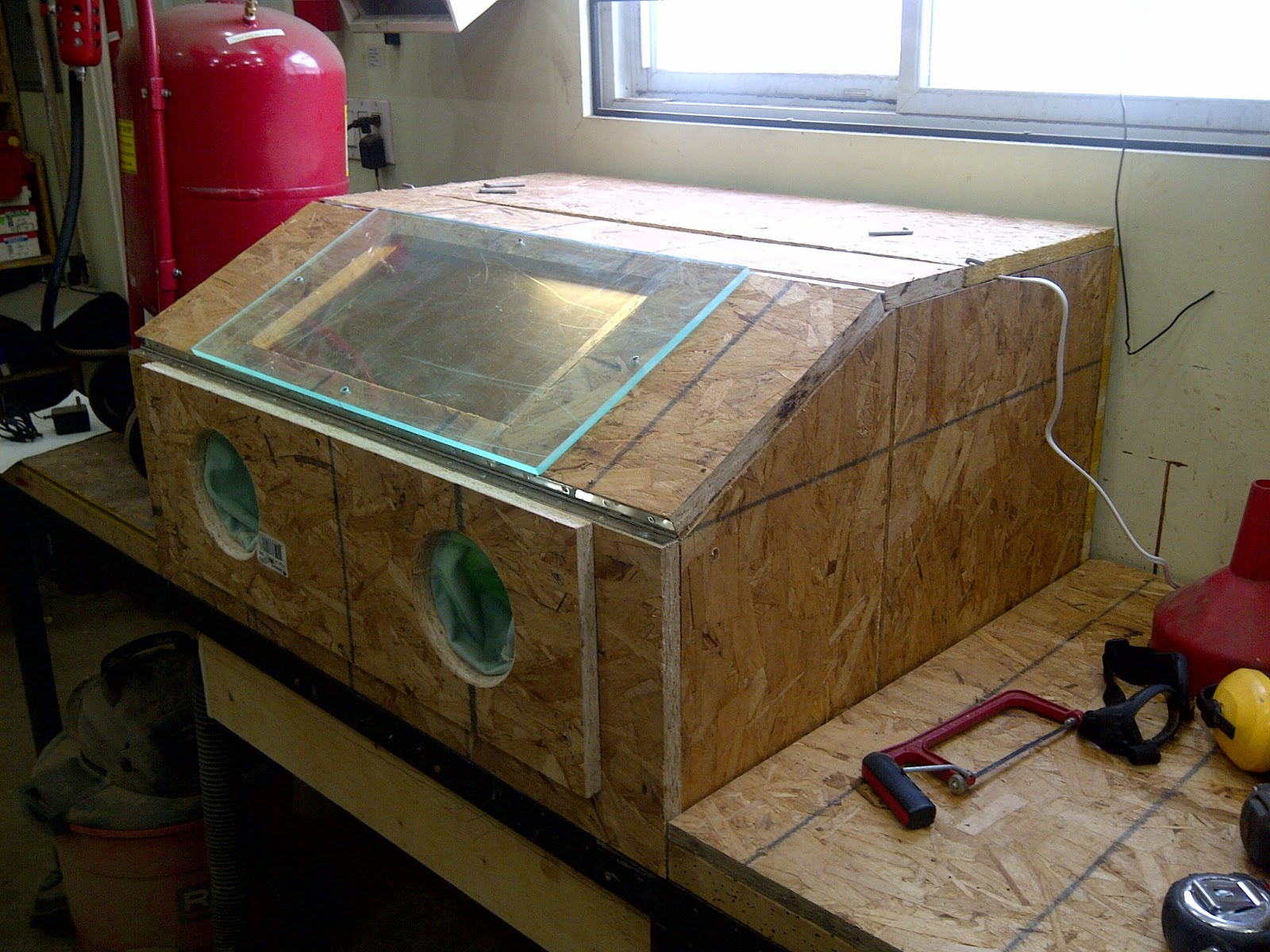 Another Day Another Project Sandblasting Cabinet