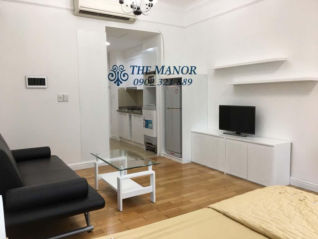 The Manor cho thuê Studio 32m2 căn góc view đẹp - hình 2