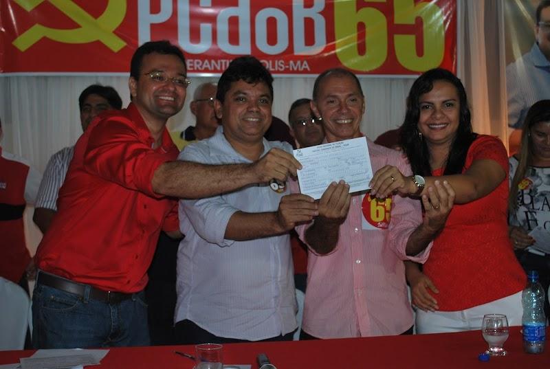 Prefeito de Esperantinópolis Aluisinho do Posto pede desfiliação do PCdoB.