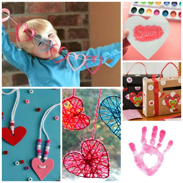 25 utterly adorable valentines crafts for kids to make- such cute ideas!
