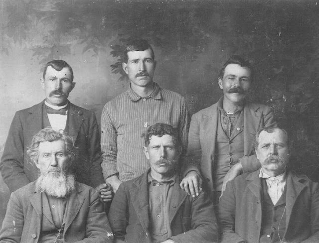 John Monroe Ganus, Robert Lee Ganus, Roderick Monroe Ganus, Newton Lafayette Ganus, William Franklin Ganus