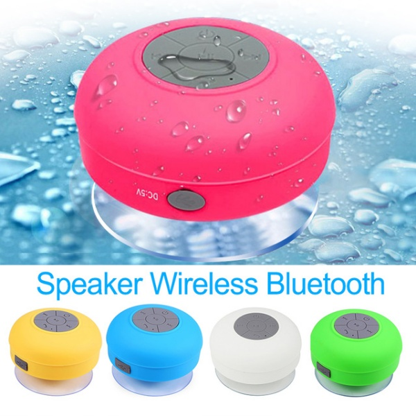 Wireless Speakers For Bathroom Showers Subwoofer Music Loudspeaker