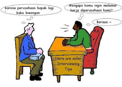 Kata-kata lucu interview kerja