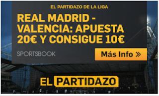 betfair promocion Real Madrid vs Valencia 1 diciembre