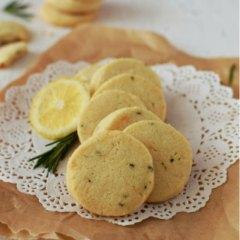 Receta para preparar galletas de romero y limón