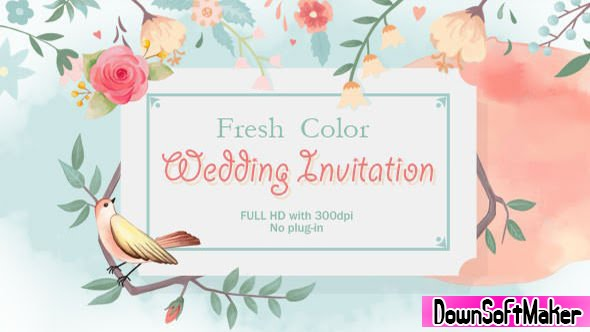 Results For Free Download After Effect Template Wedding Invitation