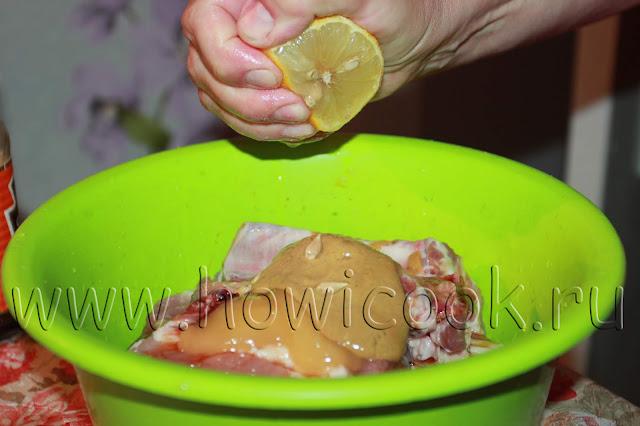 рецепт свиных ребрышек в медово-апельсиновом маринаде с пошаговыми фото