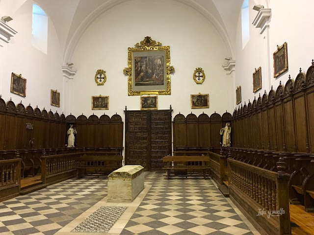 Monasterio Sancti Spiritus Toro  coro