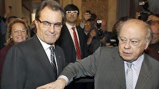 Artur Mas, cuyo tatarabuelo Joan Mas i Roig