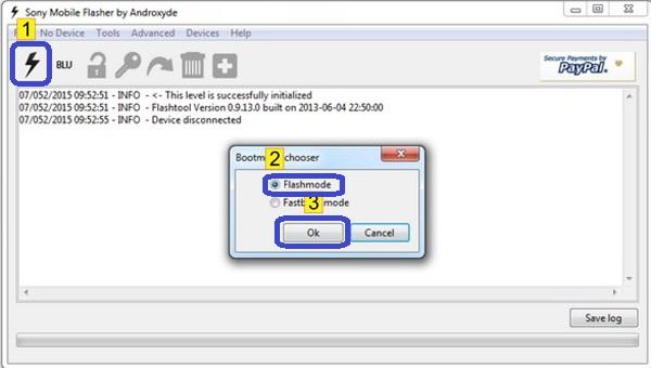 Cara Flashing Pada Sony Xperia L C2104 dan C2105 Dengan PC via Flashtool