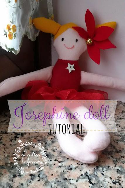 Bambola Josephine in feltro: tutorial