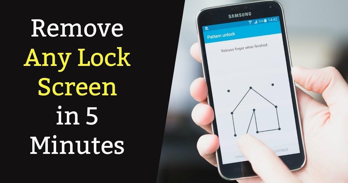 طريقة تخطي حماية الهاتف رمز القفل او النمط او البصمة