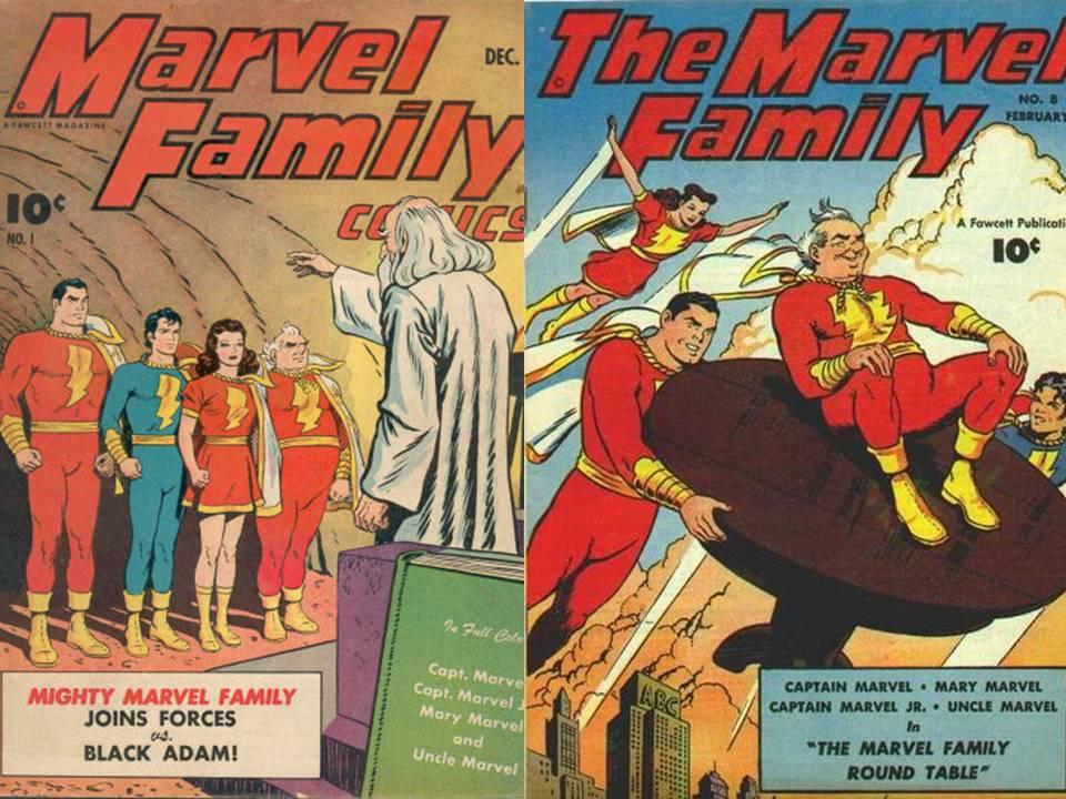 Resultado de imagen para captain marvel family