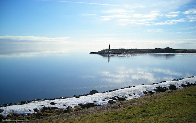 Winter op het IJsselmeer