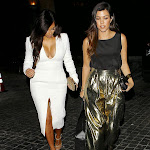 Kim Kardashian – In White Looking Hot in Los Angeles [6 pics]