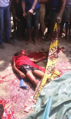 70 Three Children Crushed To Death By Female Driver Who Suffered Brake Failure In Abia (Graphic Photos)