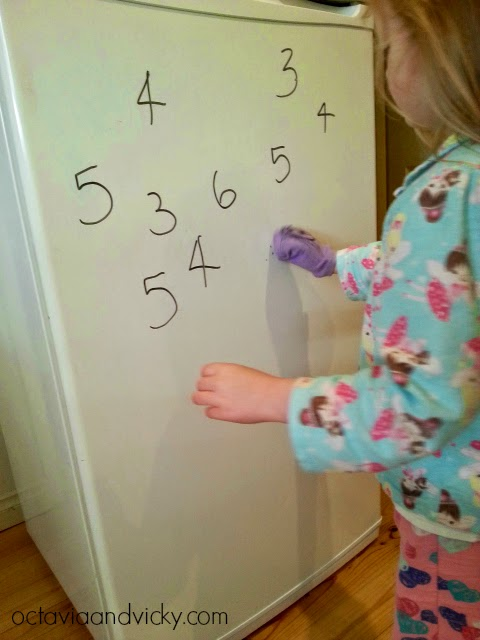 Fridge Sight Word Practice