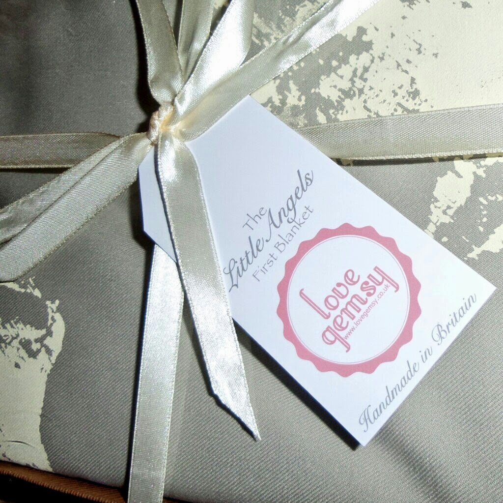 gift wrapped baby gift neutral