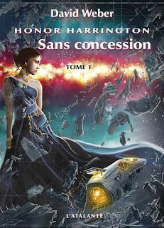 Couverture livre - critique littéraire - Sans consession tome 1 - Honor Harrington