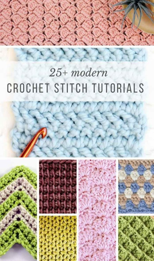 Modern Crochet Stitches For Blankets and Afghans