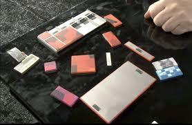 como seria un telefono modular sus piezas